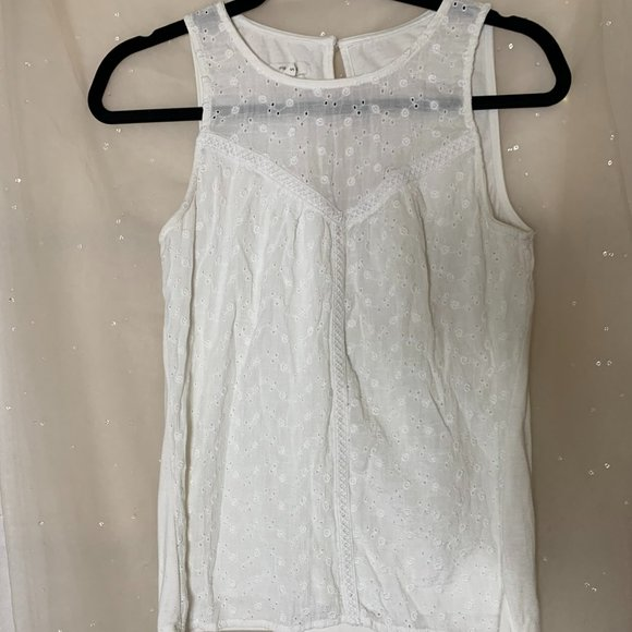 White Maurices Tank